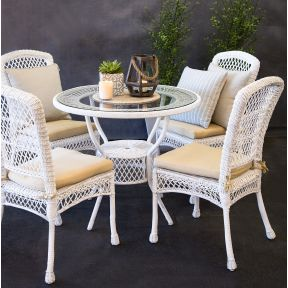 FP Collection Braxton Outdoor Dining Set