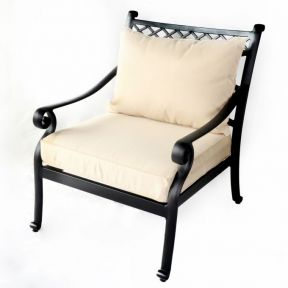 FP Collection Carmel Outdoor Occasional Chair