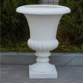 FP Collection Tall Urn White