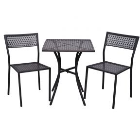 FP Collection Coble Outdoor 2 Seater Balcony Setting