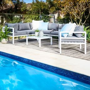 FP Collection Havana Outdoor 6 Seater Lounge Setting