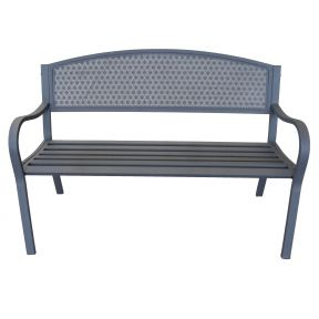 FP Collection Coble Outdoor 2 Seater Bench