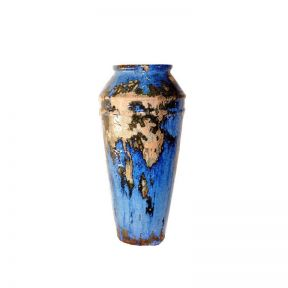 FP Collection Glazed Tall Cone Planter
