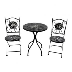 FP Collection Eden Outdoor 2 Seater Balcony Setting