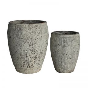 FP Collection Atlantis Cyprus Cylinder Pot