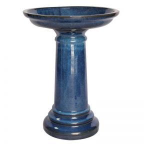 FP Collection Glazed Bird Bath  ] 166655P - Flower Power