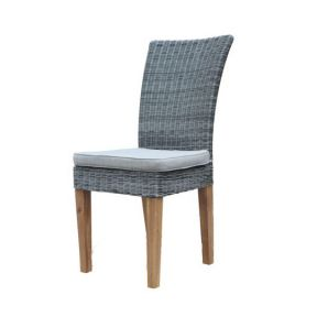 FP Collection Harboard Outdoor Dining Chair Grey
