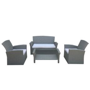 FP Collection Lochlan Outdoor 4 Seater Lounge Setting