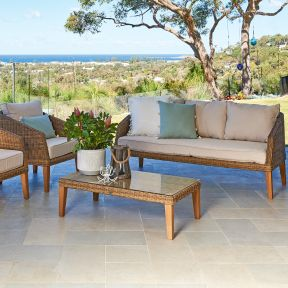 FP Collection Middleton Outdoor 5 Seater Lounge Setting