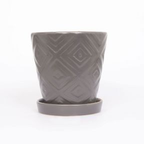 FP Collection Zoe Planter Mocha