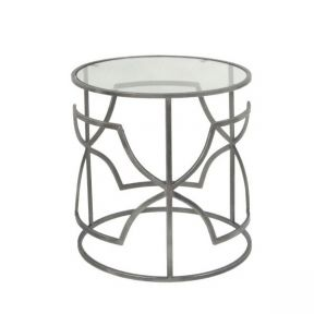 FP Collection Indoor Bently Side Table