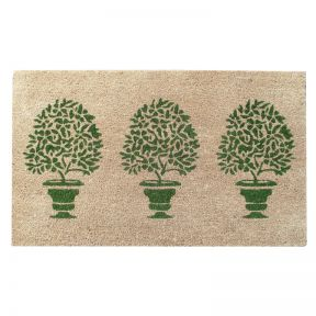 FP Collection Door Mat Topiary