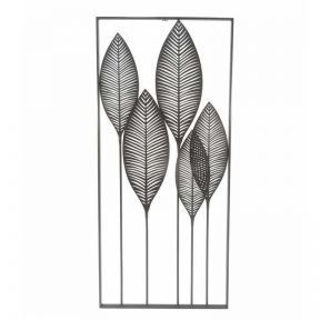 FP Collection Leaves Metal Wall Art