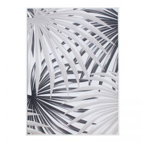 FP Collection Palm Frond Canvas Wall Art