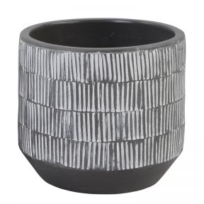 FP Collection Mali Planter Charcoal