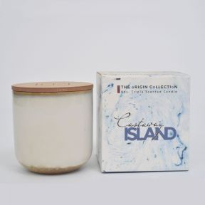 The Origin Collection Castaway Island triple scented 9oz Candle