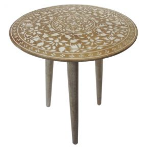 FP Collection Indoor Lagos Side Table Large