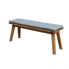 FP Collection Leura Outdoor Dining Bench