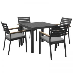 FP Collection Resort Outdoor Dining Setting  ] 177464 - Flower Power