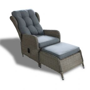 FP Collection Harvard Outdoor Reclining Armchair