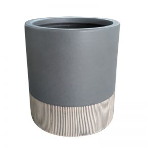 FP Collection Bora Bora Planter Charcoal