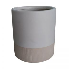 FP Collection Bora Bora Planter White