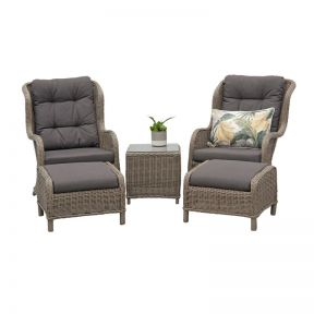 FP Collection Lawrence Outdoor 2 Seater Lounge Setting