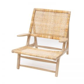 FP Collection Bangalow Cane Occasional Chair