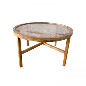 FP Collection Bangalow Rattan Coffee Table