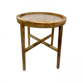 FP Collection Bangalow Rattan Side Table
