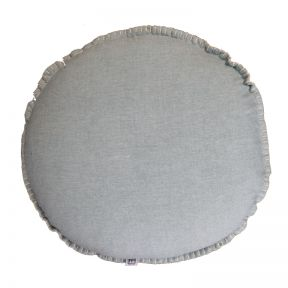 FP Collection Mia Round Cushion Blue
