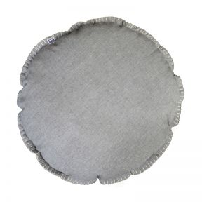 FP Collection Mia Round Cushion Charcoal