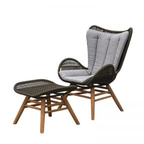 FP Collection Balkon Outdoor Occasional Chair Setting