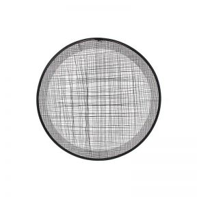 FP Collection Quinn Round Metal Wall Art