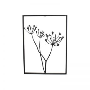 FP Collection Flora Metal Wall Art