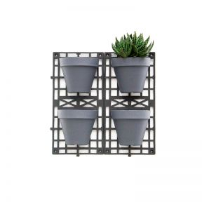 FP Collection Vertical Planting Kit With 4 Hanging Baskets Lead