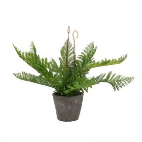FP Collection Artificial Autumn Fern in Pot
