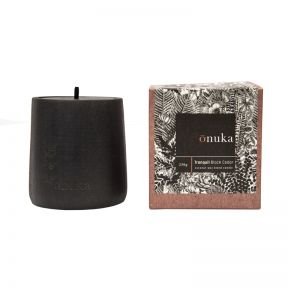 FP Collection Onuka Candle Tranquil Black Cedar