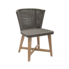 FP Collection Woodford Outdoor Dining Chair Grey