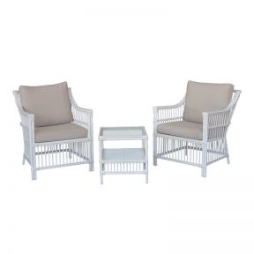 FP Collection Southampton Outdoor 2 Seater Balcony Setting