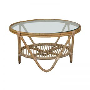 FP Collection Shore Cane Coffee Table