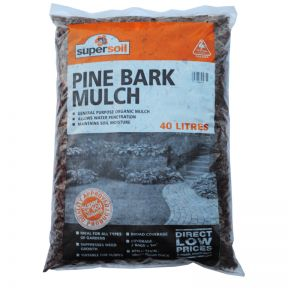 Pinebark Fine Mulch Bag