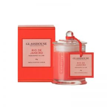 Glasshouse Rio De Janeiro Passionfruit & Lime Candle  ] 680569568311P - Flower Power
