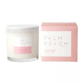 Palm Beach White Rose & Jasmine Deluxe Candle