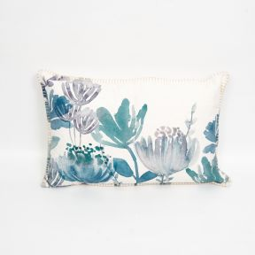 Madras Link Tilba Blue Cushion