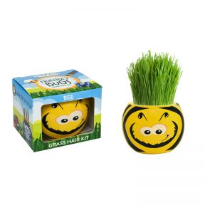 Grass Hair Kit Bugs - Bee