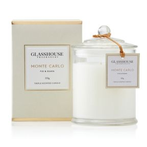 Glasshouse Monte Carlo Fig & Guava 350g Candle
