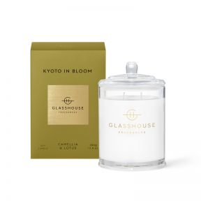 Glasshouse Candle Kyoto in Bloom