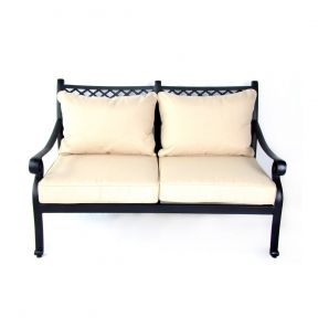 FP Collection Carmel Outdoor 2 Seater Lounge