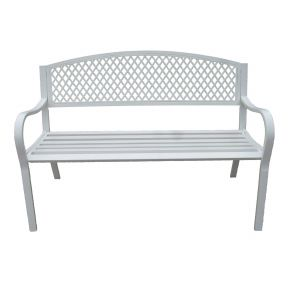 FP Collection Maui Outdoor 2 Seater Bench